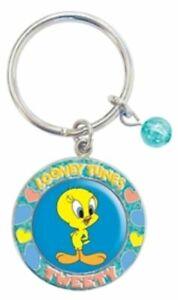 Tweety Bird Locket Key Ring - Warner Bros Looney Tunes - Tweety suits LW4