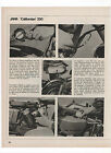 Pubblicità 1972 MOTO MOTOR JAWA CALIFORNIAN 350 advert werbung publicitè reklame