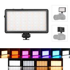 ZIFON RGB Pocket LED Video Light Panel Camera Fill Light Dimmable T1O9