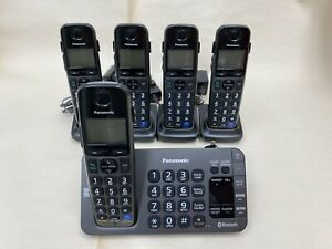 Panasonic 5 Phone Set Bluetooth.