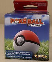Nintendo Poke Ball Plus Pokemon for Let's Go Eevee! & Pikachu! Unopened MEW