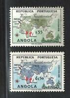Portuguese Angola Stamps | 1954 | Presidential Trip | MNH #377-378