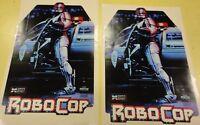 Robocop Arcade Game Side art decal set