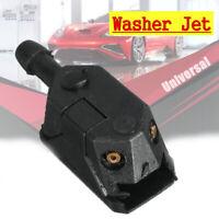 1Pc Plastic Universal Black Car Blade Arm Washer Wiper Water Spray Jet Nozzle ~