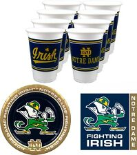 Notre Dame Fighting Irish NCAA Party Pack - 48 pieces