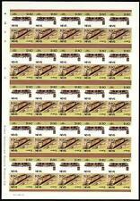 1953 Union Pacific (UP) de turbina de gas (USA) IMPERF/hoja de sellos de tren imperforado