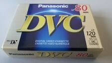 Panasonic AY-DM80EJ Mini DV DVC Digital Video Cassette Tape - 80 Minutes