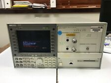 HP 70820A DC to 40 GHz Microwave Transition Analyzer+ HP 70004A + HP 70310-60016