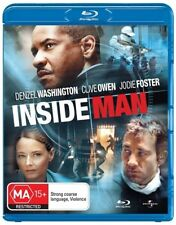 Inside Man - Blu-ray, 2009 (LIKE NEW) Aus Region B