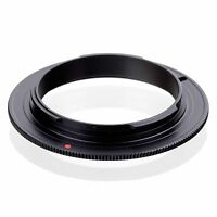 Lens Mount Reverse Macro Adapter Ring 58mm for OM 4/3 Olympus DSLR Camera