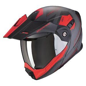 Scorpion Adx 1 Tucson Enduro Flip up Helmet Motorcycle off Road Crash
