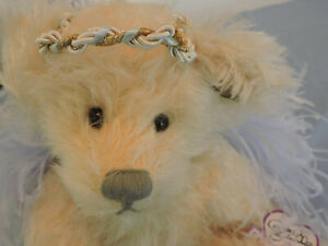 Annette Funicello CHARITY Angel Jointed Bear w/ Original Box