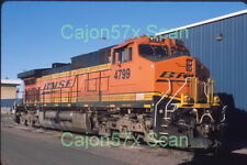 Original slide- BNSF C44-9W #4799 H3 Repaint (Now Off Roster, Lease Returned)