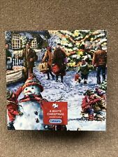 Gibsons Jigsaw Puzzle A White Christmas 500 Pieces ~ New & Sealed
