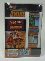 MTG Magic Invasion Fat Pack NEW Novel Tournament Pack and 3 Boosters