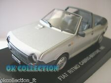 1:43 FIAT RITMO CABRIO BERTONE - 1982 - grigia grey (31)