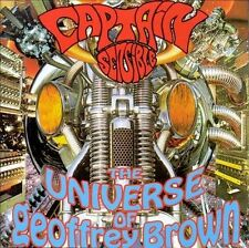 Captain Sensible Universe Of Geoffrey Brown Cd The Damned