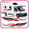 Motorhome Vinyl Graphics Stickers Decals Camper Van RV Caravan Horsebox mh4b