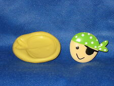 Pirate Push Mold Flexible Resin Clay Candy Food Safe Silicone  #669 Soap Candle