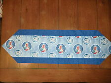 Christmas Table Runner - Mother & Child & White Doves