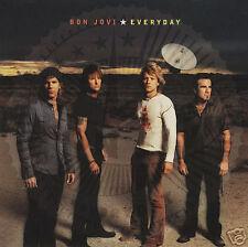 BON JOVI Everyday 1 TRK RARE 2002 PROMO DJ CD Single
