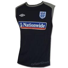 England Soccer Mens Sleeveless Shirt / Muscle Tee XL