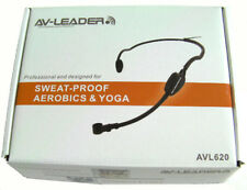 IPX-4 Water Resistant Headset Mic for Shure Wireless_Cycle Aerobic Fitness Class