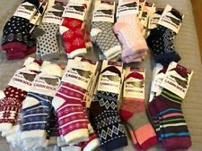 BNWTS women's  Yaktrax cabin socks COZY SUPER WARM OSFM