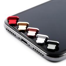 10 x Phone 7 7+ 8 10 20 X Lightening Anti Dust Plug Connector Metal Dust Plugs