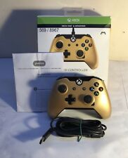 WIRED Xbox One Controller -PDP Licensed Gold Edition (USED)