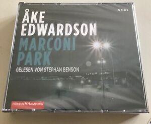 Thriller - Ake Edwardson - Marconi Park - 6 Audio-CDs - NEU/OVP
