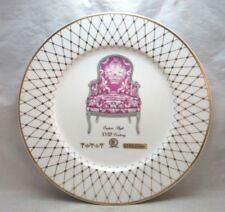 Lenox French Chairs Collection porcelain plate. Empire Style