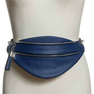 NWT INC International Concepts Womens Saffiano Faux Leather Belt Bag. BMG501954