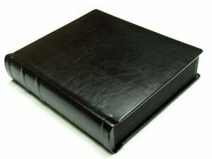 Professional 8x10 black Wedding/Parent Album - 20 photos (Engraving Available)