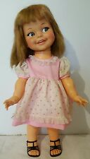 VINTAGE IDEAL GIGGLES DOLL WITH FLIRTY EYES
