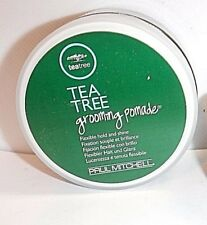 Paul Mitchell TEA TREE Grooming Pomade Flexible Hold and Shine 3 oz