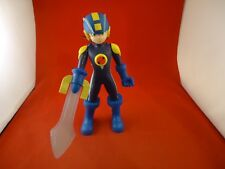 "Mega Man Action Figure NT Warrrior Protoman Blue 10"" Tall Mattel"