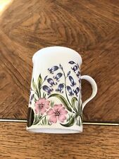 Crown Trent Hedgehog with Flowers Cup/Mug Fine Bone China Made in England