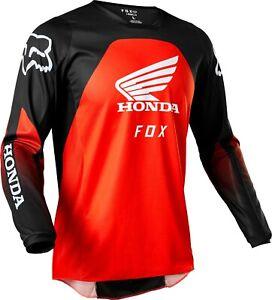 Fox Racing 180 Honda Jersey Red/Black Men's Motocross MX/ATV Riding Shirt '22