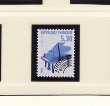 timbre France préoblitéré  musique   piano     n° 222  **