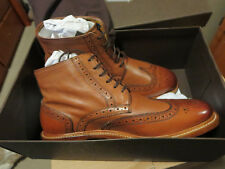New Mens Florsheim Heritage Wingtip Shoes Size 8.5 Color Brown