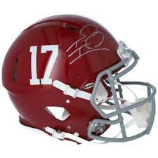 TUA TAGOVAILOA Autographed Alabama Authentic Speed Helmet FANATICS