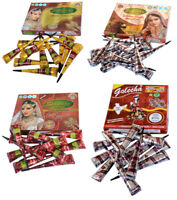 Herbal Henna Ink Natural Maroon Mehandi Cone Temporary Tattoo kit Body Art Paint