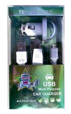 Tek Star USB Multi Purpose Car Charger -New - Retail packaging - Free Shipping