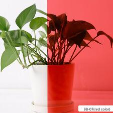 Red Color Decorative Window Film Privacy Glass Sticker Tint Home Mall Decor DIY