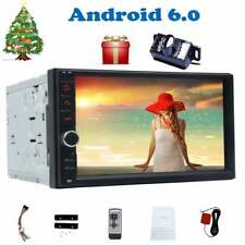 "Doble 2DIN 7 ""Android 6.0 GPS radio estereo no DVD Player WiFi DAB+ camara"