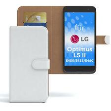 Tasche für LG Optimus L5 II - E450 / E455 / E460 Case Wallet Schutz Hülle Cover
