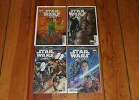 Journey to Star Wars Allegiance Rise of Skywalker 1 2 3 4 Complete CVR C Set NM