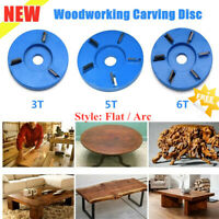3/4/5/6 Teeth Wood working Carving Disc Milling Cutter For Angle Grinder Tool