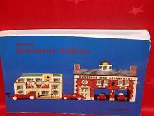 Miniature Emergency Vehicles - Paperback Book - Dr. Edward Force -1985